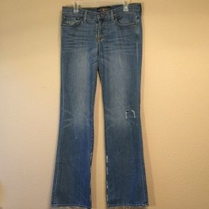 "Lucky Brand jeans Sweet N Low 8 29 35"" inseam"